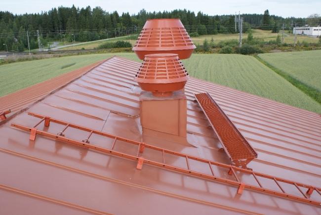 Kattotikkaat huopakatolle