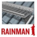Kattosilta Rainman 2,92 m täydellinen asennussarja