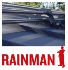 Lumiesteet Rainman 3,0 m kaksiputkiset