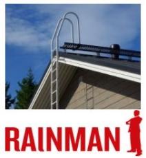 Talotikkaat Seinätikkaat Rainman, paketti 3 m