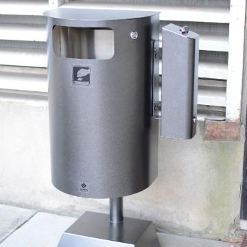 Tuhka- ja roska-astian yhdistelmä 30 l