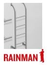 Turvatikkaat Rainman, paketti 2,4 tai 3 m