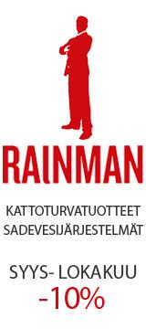 Rainman kattoturvatuotteet